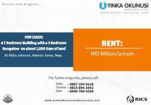 10 bedroom Office Space Commercial Property for rent Aba Johnson Street Adeniyi Jones Ikeja Lagos