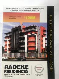 3 bedroom Penthouse Flat / Apartment for sale Onikoyi Estata Banana Island Ikoyi Lagos