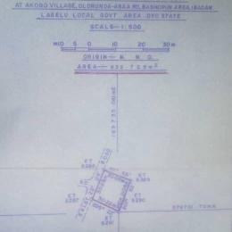 Residential Land Land for sale Anifalaje  Akobo Ibadan Oyo