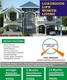 Residential Land Land for sale Papa Ewekoro (Divine Villa Estate), Onikoko Town Ewekoro Ogun