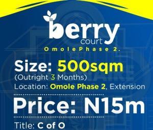 Residential Land Land for sale Omole Phase 2, Magodo GRA Magodo Isheri Ojodu Lagos