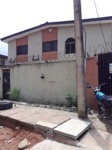 3 bedroom Flat / Apartment for rent Anifowoshe street off Olaniyi street new oko Oba  Abule Egba Abule Egba Lagos