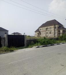 Land for sale Bode Ajakaiye Street, Atlantic View Estate, Alpha Beach Road,  Igbo-efon Lekki Lagos