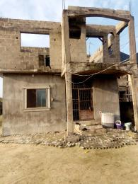 Blocks of Flats House for sale Irede Road, By Abule Oshun, waterside (Ango Beach Estate) Trade fair Apapa Lagos
