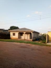 3 bedroom Detached Bungalow House for sale White House close to the road  Abule Egba Abule Egba Lagos
