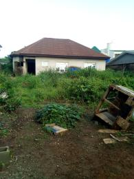 4 bedroom Detached Bungalow House for sale in an estate amidst other estates via the old nitel road.  Oko oba Agege Lagos