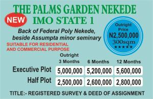 Mixed   Use Land Land for sale Besides Federal Polytechnic Nekede Owerri Imo