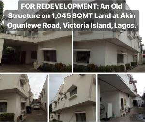 Detached Duplex House for sale Akin Ogunlewe Road, Victoria Island, Lagos. Victoria Island Lagos
