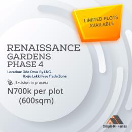 Mixed   Use Land Land for sale Ode-Omu by LNG Ibeju Lekki Free Trade Zone Ibeju-Lekki Lagos