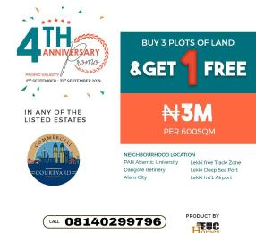 5 bedroom Mixed   Use Land Land for sale Free Trade Zone Ibeju-Lekki Lagos