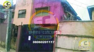 3 bedroom Blocks of Flats House for sale Vulcanizer Bus/Stop Ago palace Okota Lagos