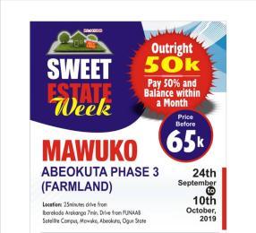 Commercial Land Land for sale Mawuko Mawuko Abeokuta Ogun