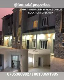 4 bedroom Terraced Duplex House for sale Close to Stella Marris College Life Camp Abuja