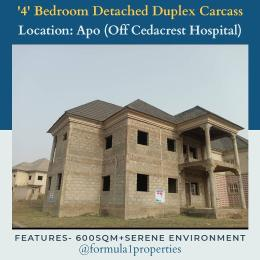 4 bedroom Detached Duplex House for sale Off Cedacrest Hospital Apo Abuja