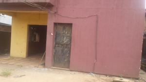 House for sale A storey building at iyeya street off new Lagos road on a plot of land of 110ft by 50ft with good motorable road  Oredo Edo