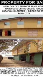 9 bedroom Office Space Commercial Property for rent 163, Idiroko Road, Ota near GRA/Ansar-Ud-Deen School Ota-Idiroko road/Tomori Ado Odo/Ota Ogun