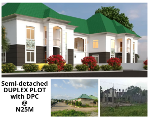 5 bedroom Semi Detached Duplex House for sale Opposite Prince Ebaeno Supermarket Gaduwa Abuja