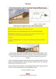 Warehouse Commercial Property for sale Kajola Eputu Ibeju-Lekki Lagos