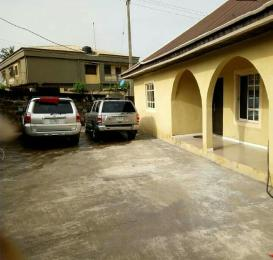 Detached Bungalow House for sale Onipetesi Estate Mangoro Ikeja Lagos