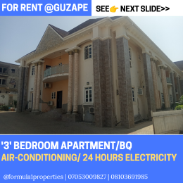 3 bedroom Flat / Apartment for rent Guzape Abuja