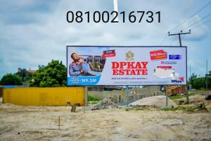 Residential Land Land for sale DPK Estate Opposite Crown Estate and Emperior Estate Sangotedo Ajah Lagos Majek Sangotedo Lagos