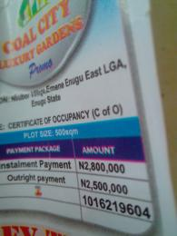 Mixed   Use Land Land for sale Enugu East LCA, Enugu Enugu