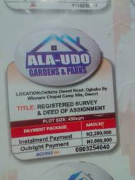 Mixed   Use Land Land for sale Onitsha Owerri road,ogbaku by winners camp site,owerri Owerri Imo