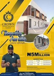 Terraced Duplex House for sale Vintage Estate sangotedo,less than 1 mins drive from Novare mall (Shoprite ), opposite Crown Estate.  Sangotedo Ajah Lagos