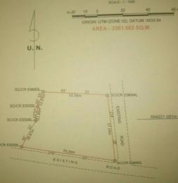 Land for sale Agbor Ntoe Residential Layout Calabar Cross River