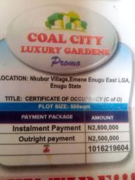 Serviced Residential Land Land for sale Nkubor village emene Enugu state Enugu Enugu