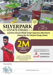 Residential Land Land for sale Amaji Ugwuonu, Nke, Emene Along the Int'l Airport Enugu State. Enugu Enugu