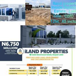 Mixed   Use Land Land for sale Inside Beachwood Estate,  Ajah,  Lakki Epe Express road Off Lekki-Epe Expressway Ajah Lagos