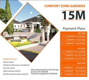 Land for sale  Lekki Scheme II, Okun Ajah, Off Ogombo Road by Abraham Adesanya Roundabout, Eti Osa LGA Abraham adesanya estate Ajah Lagos