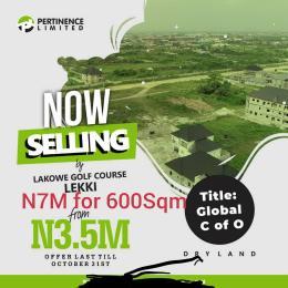 Mixed   Use Land Land for sale Golf course  Lakowe Ajah Lagos