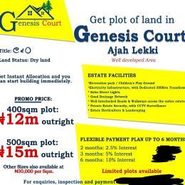 Residential Land Land for sale Before corporatize Estate  Badore Ajah Lagos