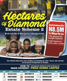 Serviced Residential Land Land for sale Behind Shoprite and few minutes to the major Express  Sangotedo Ajah Lagos