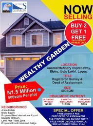 Serviced Residential Land Land for sale Along Coastal Road facing Eleko Beach  Eleko Ibeju-Lekki Lagos