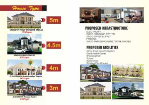 4 bedroom Residential Land Land for sale Lugbe east off NNPC road by trade more estate airport rd. Lugbe Abuja