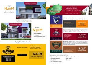 5 bedroom Terraced Duplex House for sale beside new epe international airport. LaCampaigne Tropicana Ibeju-Lekki Lagos