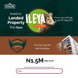 Serviced Residential Land Land for sale behide river dale LaCampaigne Tropicana Ibeju-Lekki Lagos