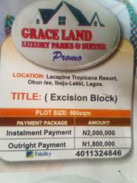 Mixed   Use Land Land for sale Close to lacampaigne tropicana LaCampaigne Tropicana Ibeju-Lekki Lagos