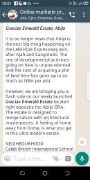 Commercial Land Land for sale Along Lekki Epe Expressway  Abijo Ajah Lagos