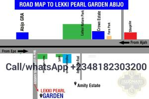 Residential Land Land for sale 5 Minutes Drive From Omu Resorts Abijo Ajah Lagos