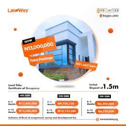 Residential Land Land for sale Bogije Town. Ibeju-Lekki Lagos