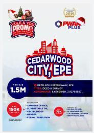 Commercial Land Land for sale Epeketu-epe Expressway Epe Road Epe Lagos