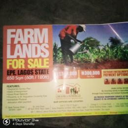 Commercial Land Land for sale Proximity to Saint Augustine University  Epe Road Epe Lagos