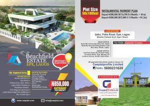 Residential Land Land for sale Ijoku, Poka Road, Epe, Lagos  ( Beside Federal Govt, Agro Store) Epe Lagos