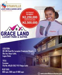 Residential Land Land for sale Oak LNG road, Ok in ise, Ibeju lekki LaCampaigne Tropicana Ibeju-Lekki Lagos