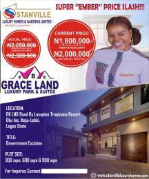 Serviced Residential Land Land for sale Okon ise LaCampaigne Tropicana Ibeju-Lekki Lagos