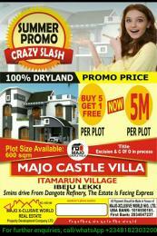 Residential Land Land for sale Itamarum Village, Ibeju Lekki  Ibeju-Lekki Lagos